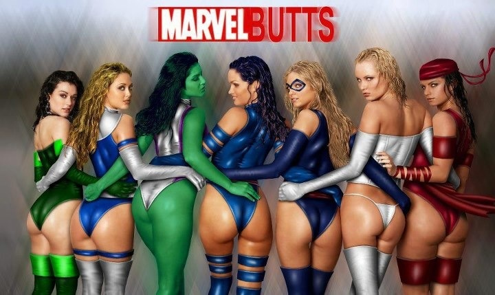 You the dc heroines bigass