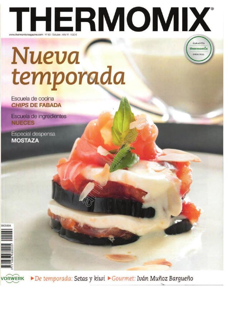 Revista Thermomix n 60 nueva temporada