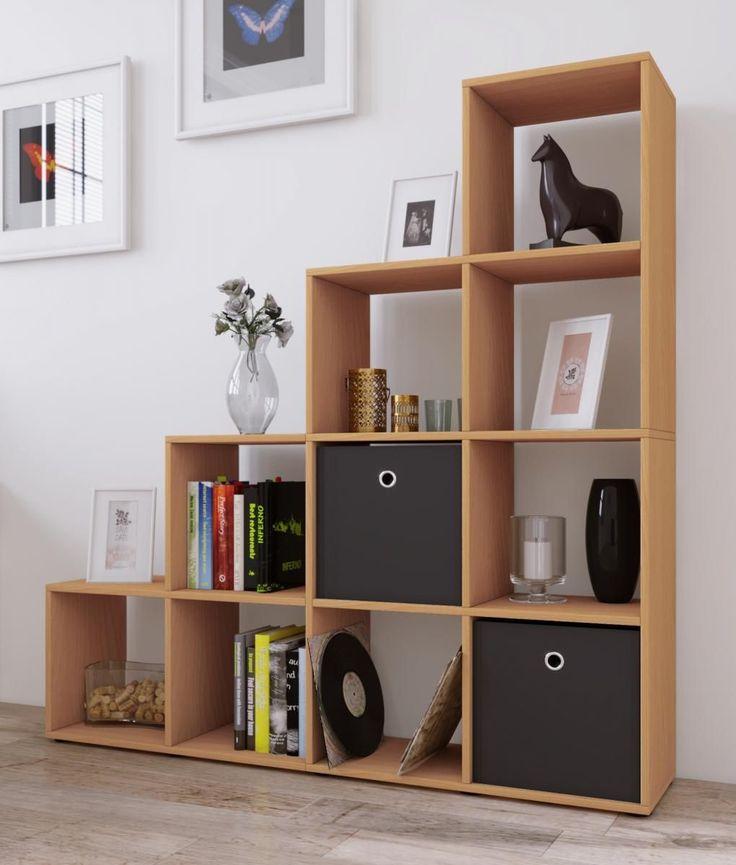 die besten 25 b cherregal buche ideen auf pinterest wandregal buche massiv wandregal eiche. Black Bedroom Furniture Sets. Home Design Ideas