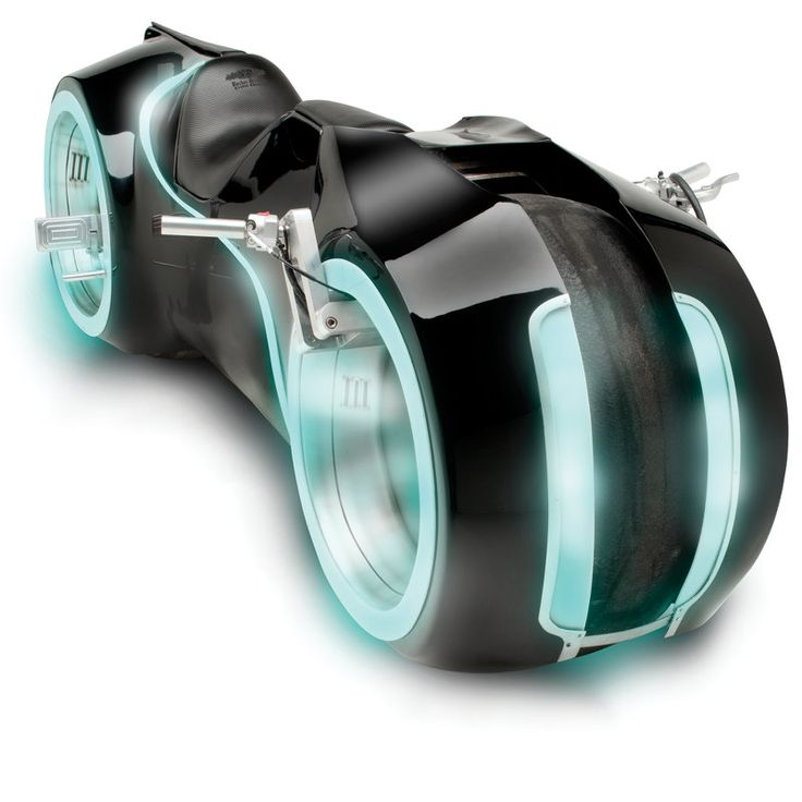 This is a fully functioning street legal tron motorcycle