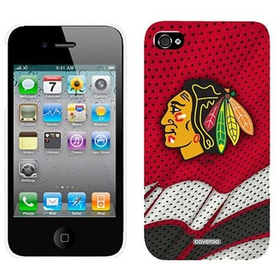 Chicago Blackhawks Jersey iPhone 4 Case