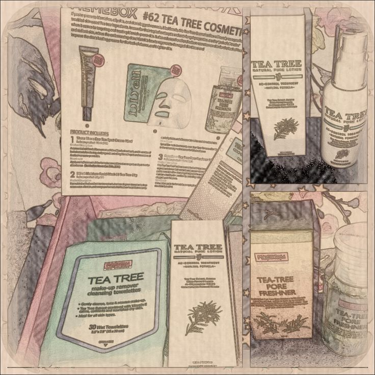 MEMEBOX #62 TEA TREE COSMETICS now up on my blog <3