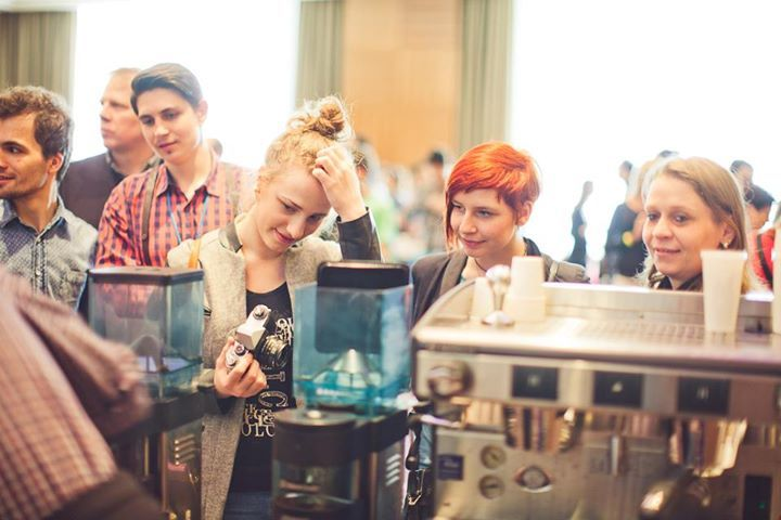 girls! @ Coffeefest Slovakia 2013 #kavomilci #coffeelovers