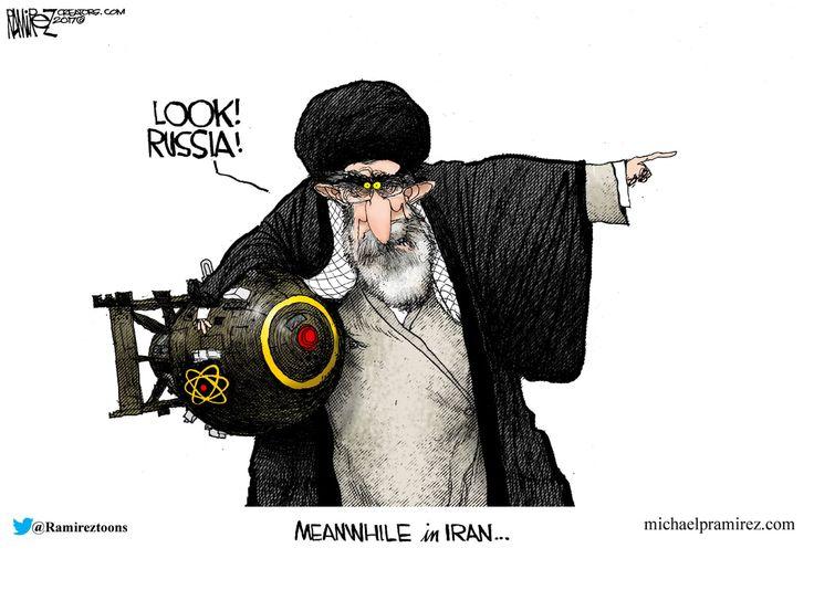 IRAN | 7/23/17 Michael Ramirez
