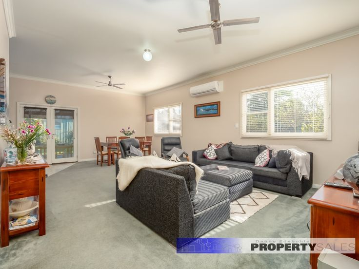 – A brilliantly positioned period style home located just 2 blocks from the town centre. – Upgraded throughout and boasting four bedrooms with built in robes, ensuite to master bedroom, sweeping open plan living, blackwood kitchen and high ceilings reminiscent of the style and era of this very appealing home. – Reverse cycle split system …