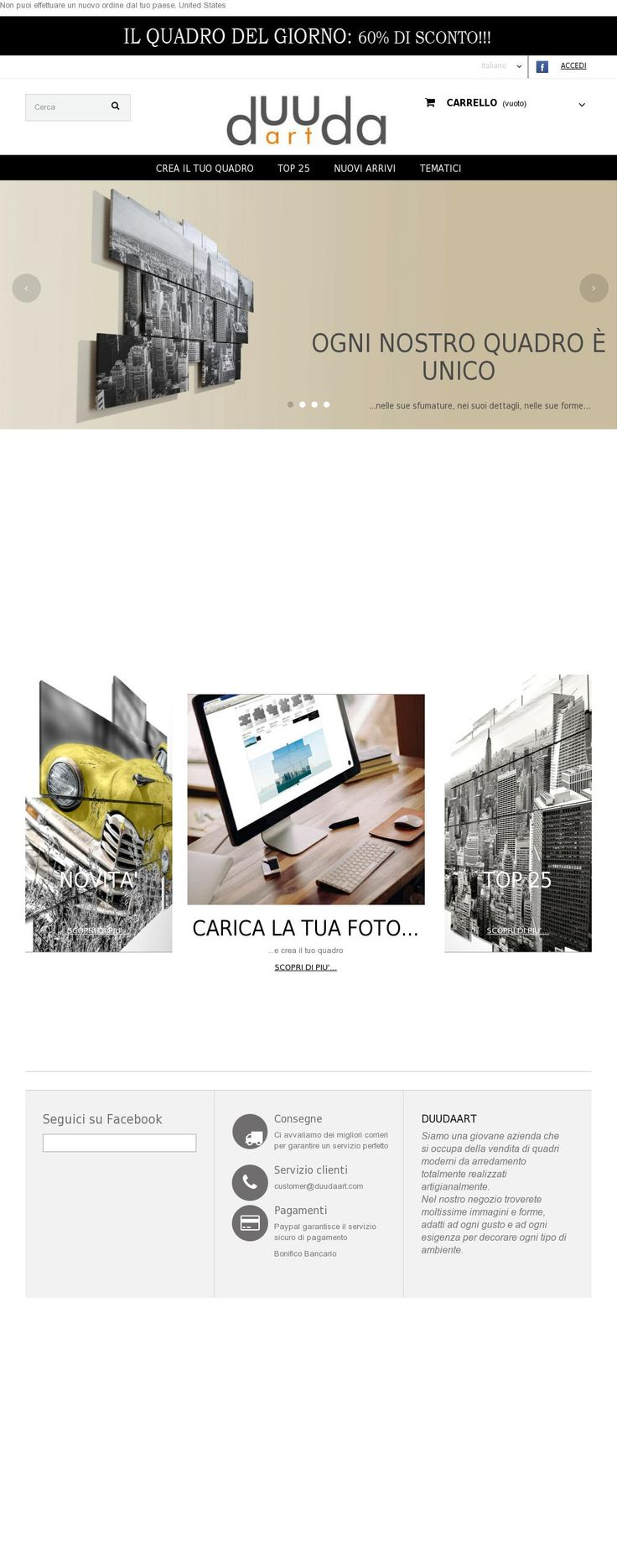 Our website www.duudaart.com (Double version: Italian/English) #website #duudaart