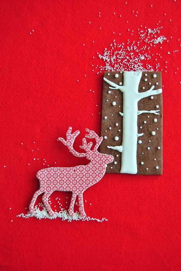 Galletas de chocolate navideñas | Viva LaTarta