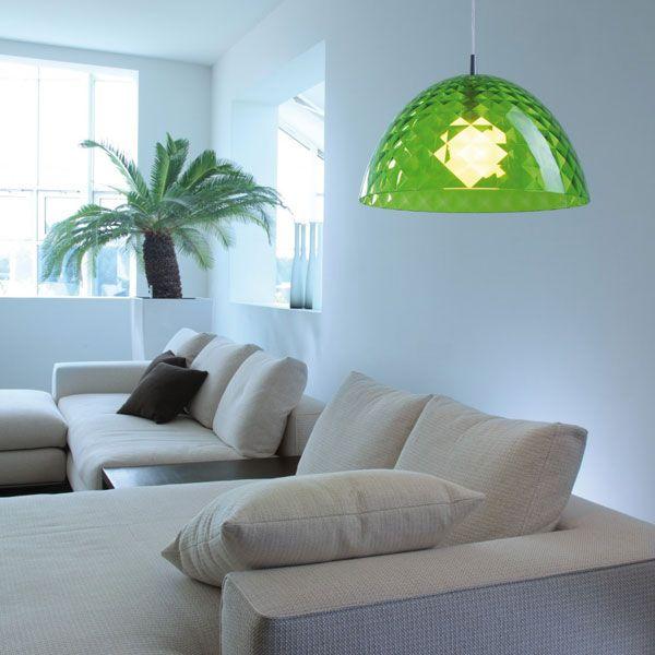 Koziol Stella M Hanging Lamp - Green