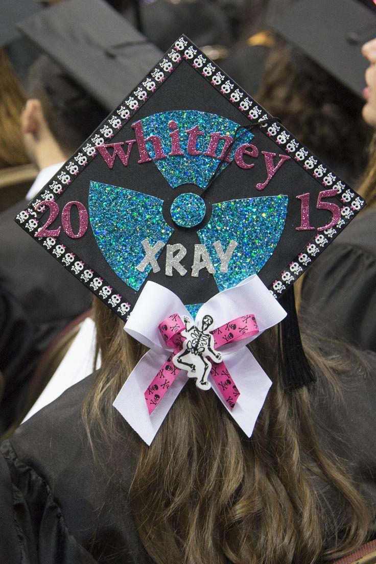 Graduation x-ray cap