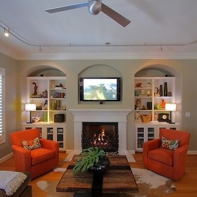 Attractive Green Living Room Design, Pictures, Remodel, Decor And Ideas   Page 7