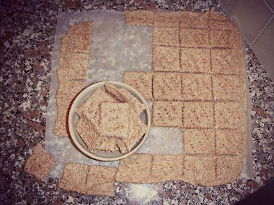 I biscotti della zia: Crackers integrali 1000 usi!
