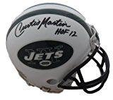 Curtis Martin New York Jets Autographs