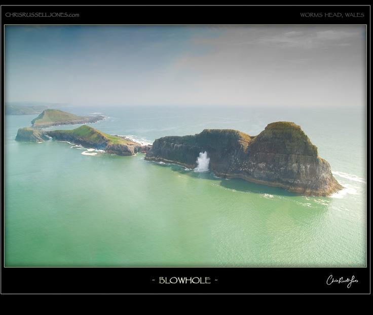 Worms Head , Gower Peninsula (via VisitSwanseaBay.com)