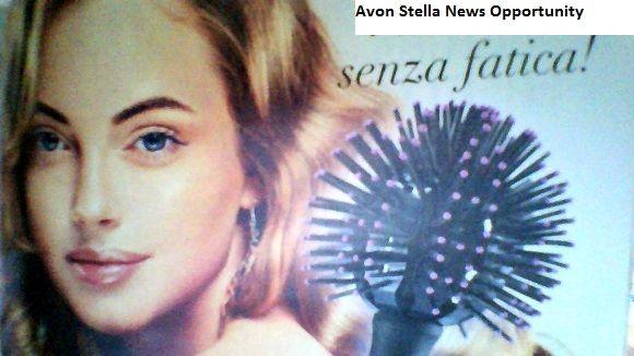 AVON C15 - LIFE per Sentirci Unici  * Onde Perfette ... senza Fatica! *  Volume & Onde come in Salone !  SPAZZOLA A SFERA ADVANCE TECHNIQUES con setole in nylon - 7,95€