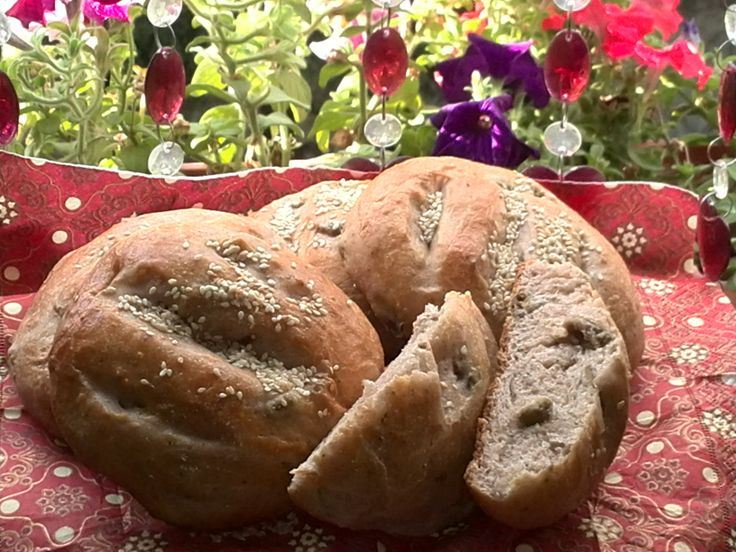 Walnut and Olive Bread