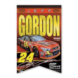 "Jeff Gordon DTEH 17x26"" Premium Felt Banner l $14.99"