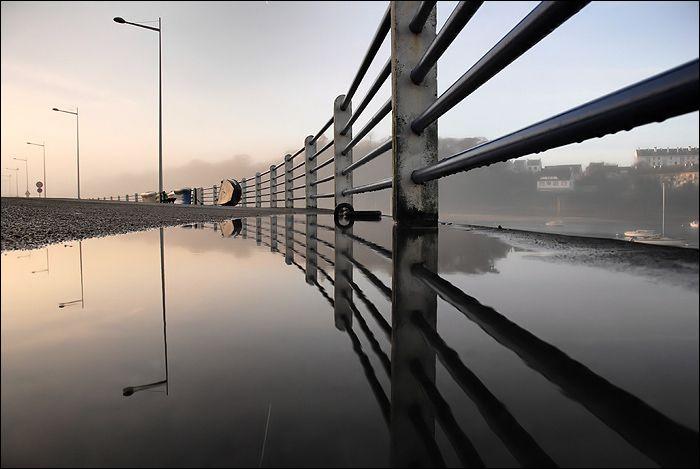 Reflets près du port de Douarnenez