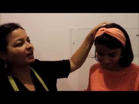 Reciclagem nº3 - Turbante (muito fácil) - YouTube