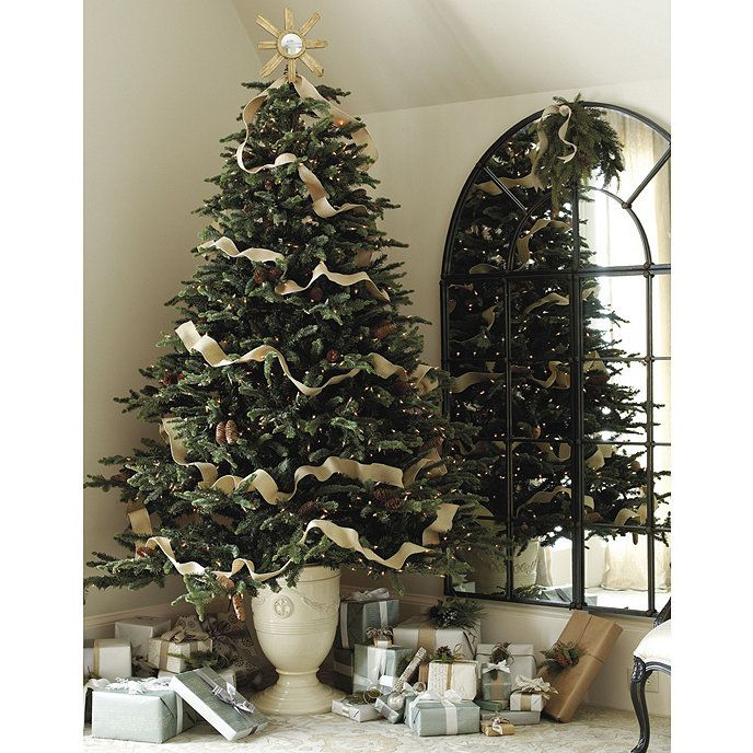 Toulon Christmas Tree Urn Ballard Designs Christmas Tree In Urn Unusual Christmas Trees Cool Christmas Trees