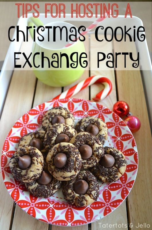 Tips for Hosting a Christmas Cookie Exchange party! Everything you need to know to make your christmas party a success!