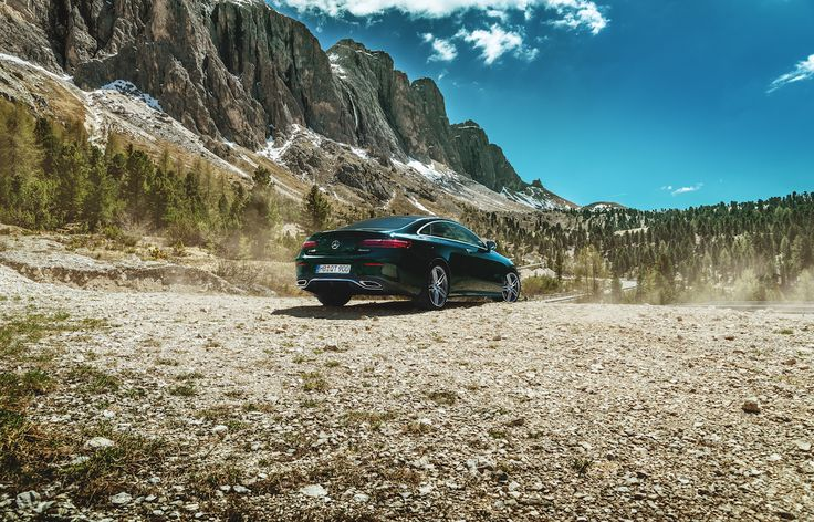 Mercedes-Benz E 400 meets mountain side. Here's to the picturesque!  #MBPhotoCredit: Ranier Fernandez #MBSocialCar