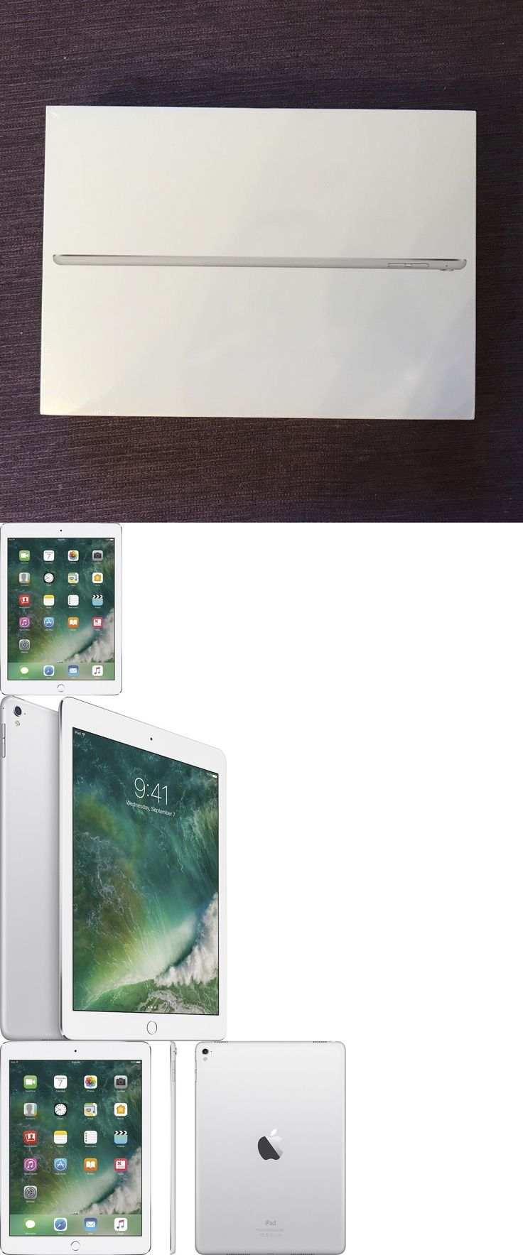 Computers Tablets Networking: New Apple Ipad Pro 9.7-Inch With Wifi 32Gb Mlmp2ll A, Silver (2016 Model) -> BUY IT NOW ONLY: $456.88 on eBay!