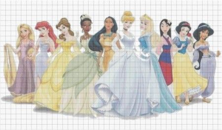 Cross Stitch Patterns Free Printable Disney