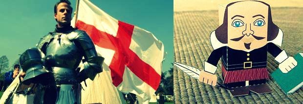 St George´s and William Shakespeare Day! \o/
