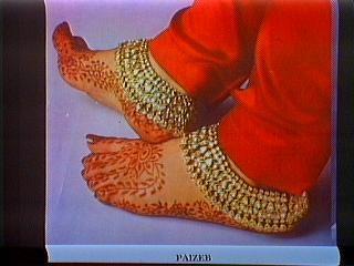 Paizeb/Pahzeb/Salangai/Chilanga--> Foot Ornament (anklets)