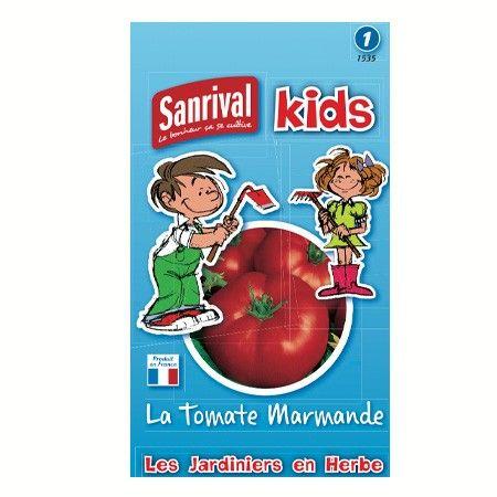 Graines Tomates Marmande pour Enfants