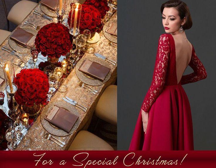 Rochii de seara rosii pentru seri romantice de Decembrie!