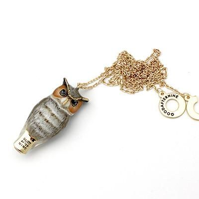 Merry | Owl Whistle Necklace.  From Good after nine.