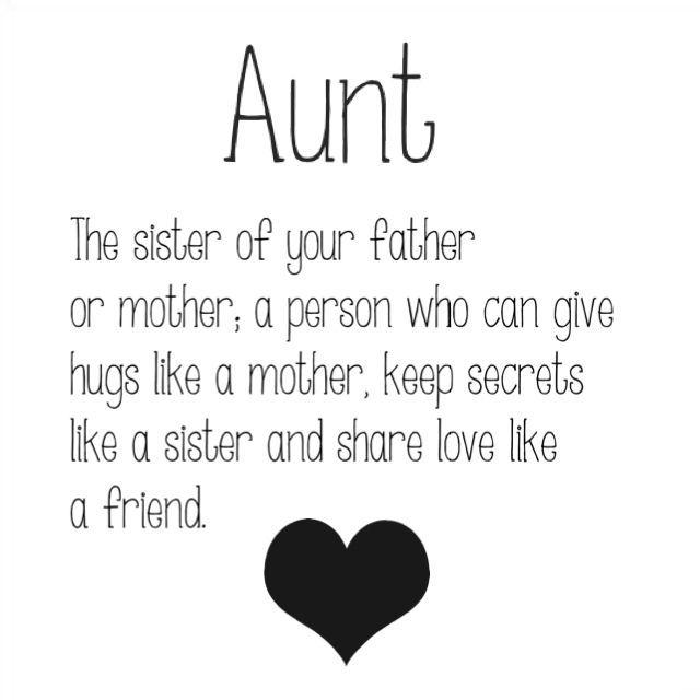 Aunts Love Quotes