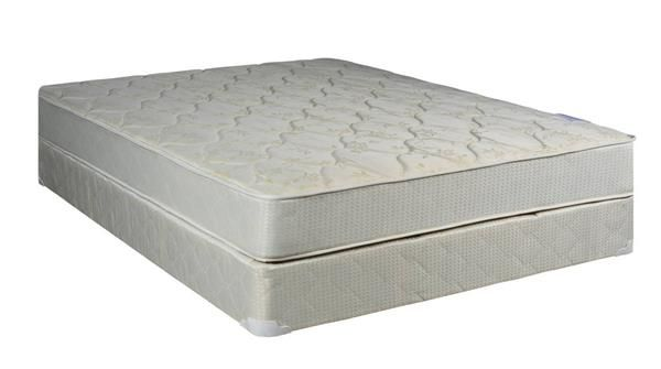 Classic Beige Tight Top Gentle Firm Double Sided Queen Mattress