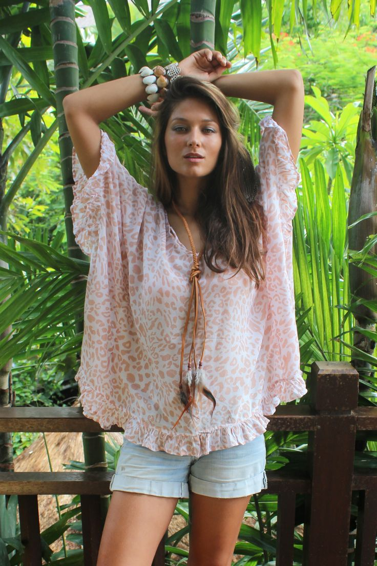 Hot Lava Ibiza Fashion Style Clothing Poncho Sun Bali
