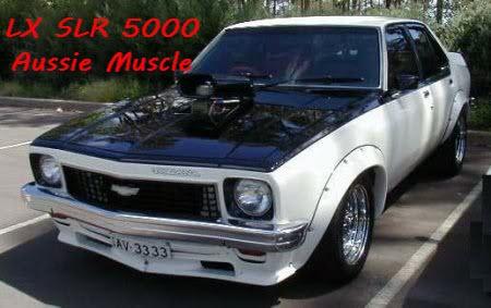 LX SLR 5000- Holden Torana
