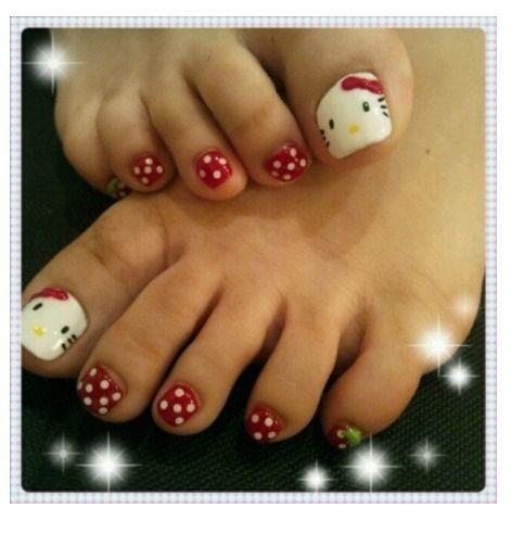 Best 25 easy toe nails ideas on pinterest simple toe nails toe 45 childishly easy toe nail designs 2015 prinsesfo Choice Image