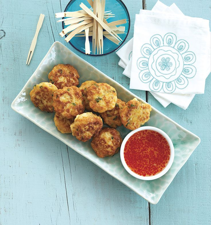 Thai Fish Cakes with Home-made Sweet Chilli Sauce