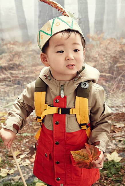Song Minguk for Skarbarn Autumn Forest Collection 2015