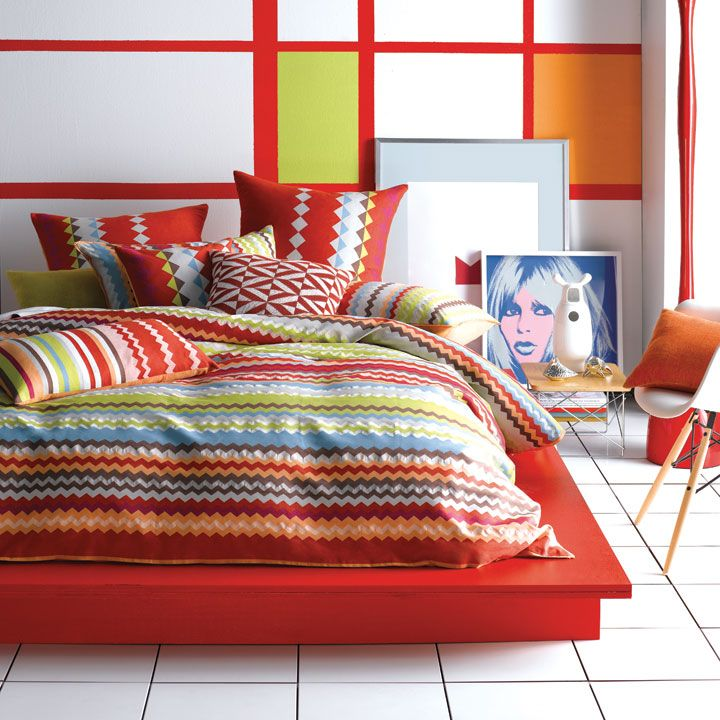 Linen House Mexicali Red quilt set (for danno's room)