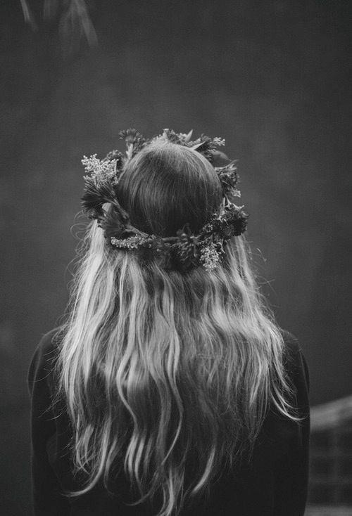 flower crown // #pbbeauty