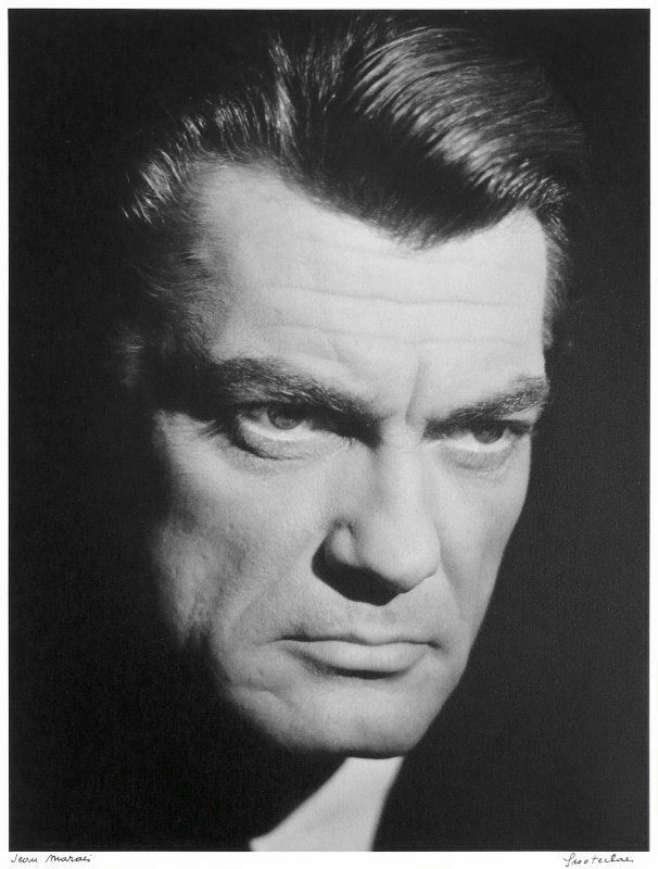 Jean Marais (1913-1998) - French actor and director. Photo by Hubert Grooteclaes