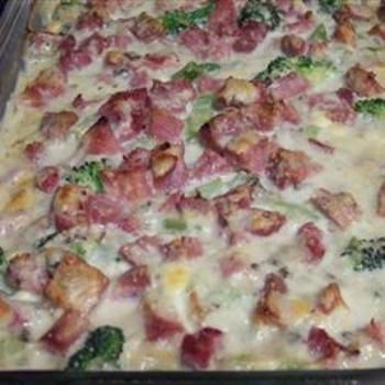 Ham, Potato and Broccoli CasseroleCasseroles Dishes, Casseroles Allrecipescom, Meals Ideas, Maine Dishes, Hams Potatoes, Food, Casseroles Recipe, Hams Left Over Recipe, Broccoli Casseroles