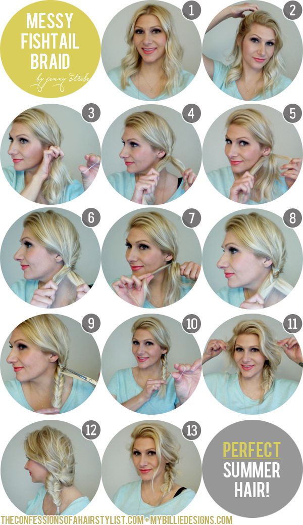 9 Step By Step Beautiful Hairstyles