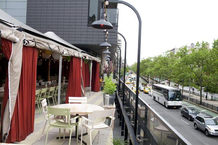 Inside Blue Ribbon Beer Garden, A New Terrace Bar On The LES: Gothamist