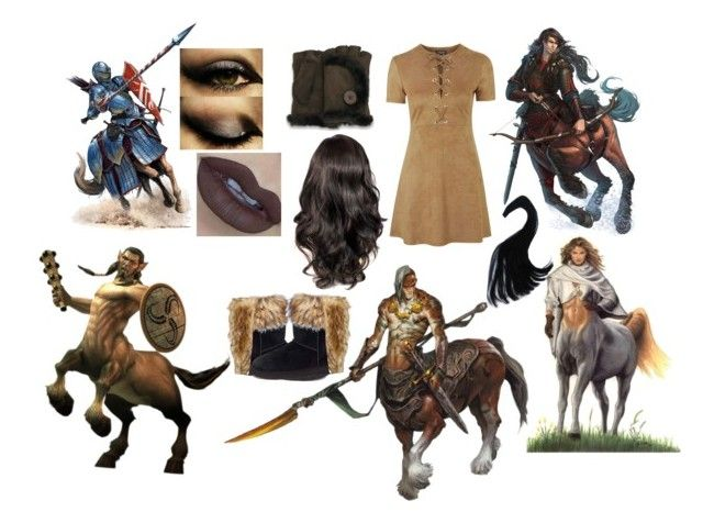 Centaur by slytheriner on Polyvore featuring Topshop, UGG Australia and Unreal Fur