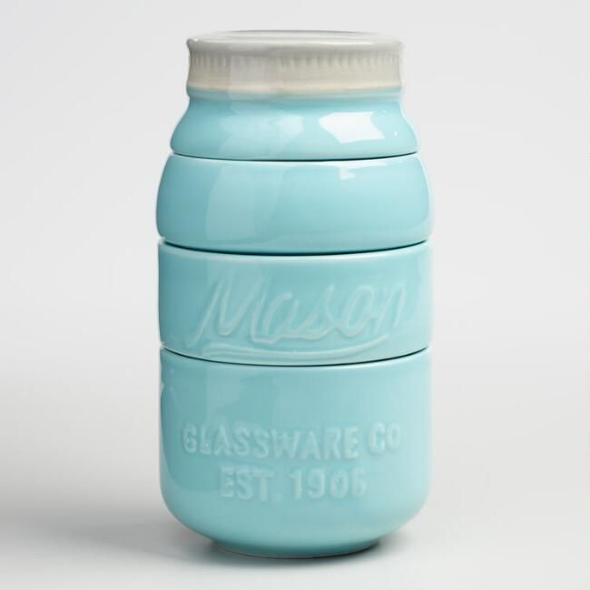 Mason Jar Measuring Cups - Our stylish Mason Jar Measuring Cups feature a design inspired by vintage canning jars. #affiliate #kitchen #cooking #baking #measuring #masonjar #masonjardecor