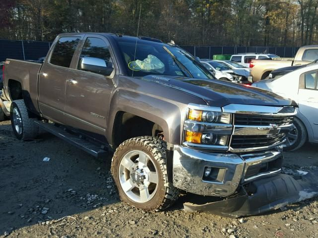 Salvage 2016 Chevrolet Silverado Z71 Pickup For Sale Salvage