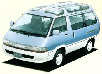 "Toyota TownAce Super Extra 2WD ""10Million"" '01.1989"