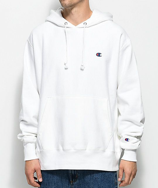07dfcf9cca0d Champion Reverse Weave White Pullover Hoodie